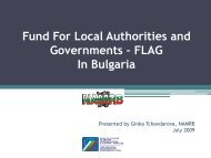 Fund For Local Authorities and Governments in Bulgaria - Nalas