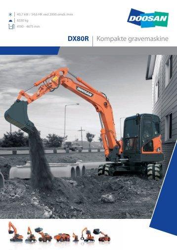 DX80R - Doosan Construction Equipment EMEA