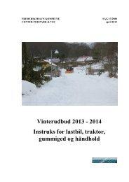 4 Instruks for lastbil, traktor, gummiged og håndhold - Frederikshavn ...