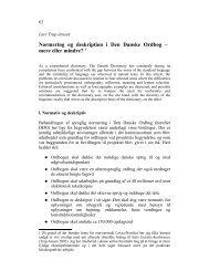 Normering og deskription i Den Danske Ordbog – mere eller mindre ...