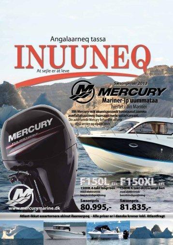 Mercury 2013 - Auto & Marine Service-Center A/S