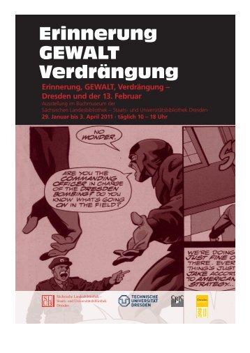 Erinnerung, GEWALT, Verdrängung – Dresden und der 13 ... - NAPEX