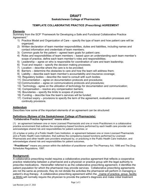 collaborative practice prescribing agreement template. Black Bedroom Furniture Sets. Home Design Ideas