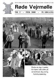 RVP-bladet, februar 2008 - Grundejerforeningen Røde Vejrmølle Park