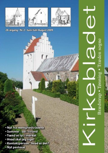 Kirkeblad nr. 2 - juni - juli - Brædstrup Kirke