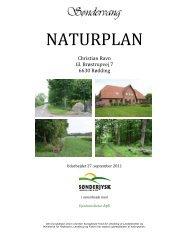 Se naturplanen her - Søndervang - et levende landbrug i ...