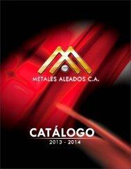 CATÁLOGO METALES ALEADOS