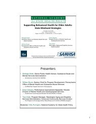 Download the slides (PDF) - National Academy for State Health Policy