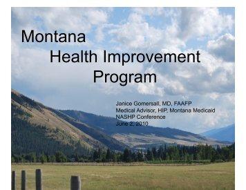 Montana Health Improvement Program