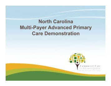 View Slides - National Academy for State Health Policy