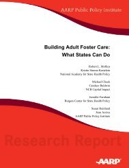 Building Adult Foster Care: What States Can Do - National Academy ...