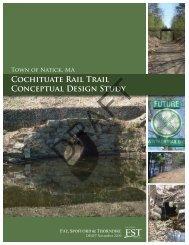 Draft Cochituate Rail Trail Study - Town of Natick