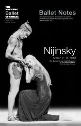 Nijinsky - The National Ballet of Canada