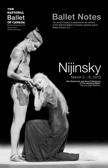 Nijinsky - The National Ballet of Canada