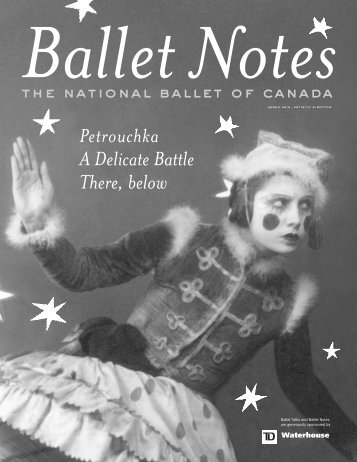 Petrouchka Notes - The National Ballet of Canada