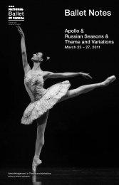 Apollo - The National Ballet of Canada