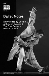 24 Preludes by Chopin - The National Ballet of Canada