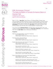 The National Ballet of Canada Orchestra Makes Concert Debut at ...