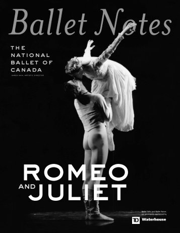 ROMEO Notes - The National Ballet of Canada