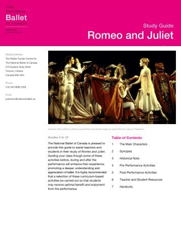 Romeo and Juliet - The National Ballet of Canada