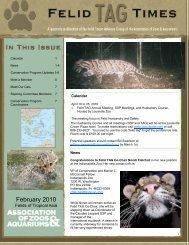 February 2010 Newsletter - National Zoo