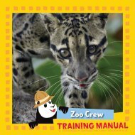 Family Guide - National Zoo