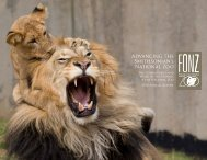 Advancing the Smithsonian's National Zoo