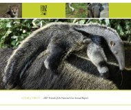 A YEAR of FIRSTS 2007 Friends of the National Zoo Annual Report