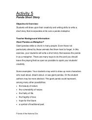 Panda Short Story - National Zoo