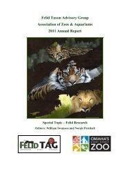 Felid Taxon Advisory Group Association of Zoos & Aquariums 2011 ...