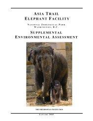 asia trail elephant facility - National Zoo - Smithsonian Institution