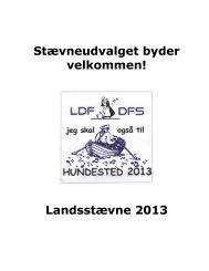 Stævneudvalget byder velkommen! Landsstævne 2013 - Forside ...