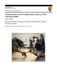 Race and Ethnicity Report - Explore Nature - National Park Service