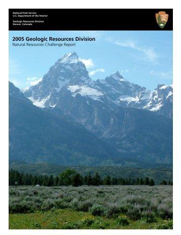 report 2005-c - Explore Nature - National Park Service