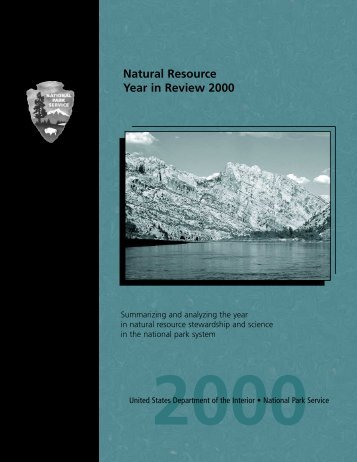 Natural Resource Year in Review--2000 - Explore Nature - National ...