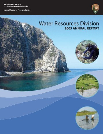 Water Resources Division 2005 Annual Report - Explore Nature ...