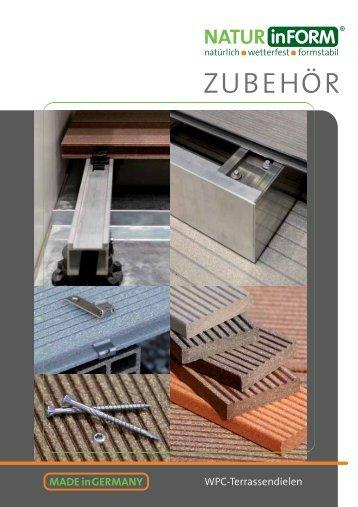Terrassendielen Zubehör - NATURinFORM