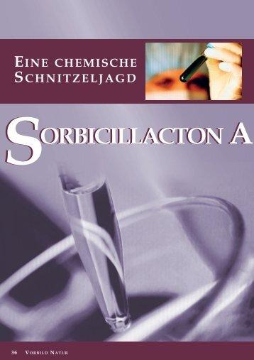 ORBICILLACTON A SORBICILLACTON A - Naturstoff-forschung.info