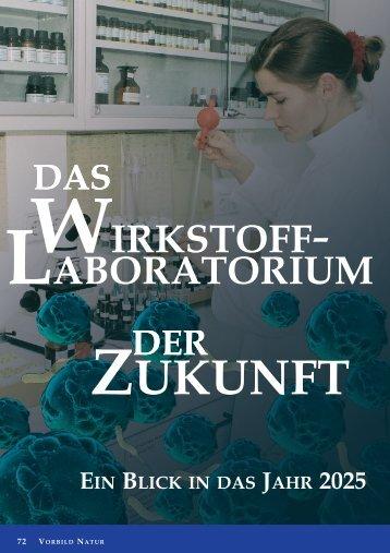Das Wirkstofflaboratorium der Zukunft - Naturstoff-forschung.info