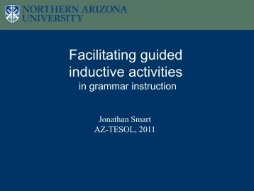 Facilitating guided inductive activities - Dana