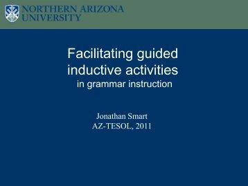 Facilitating guided inductive activities - Dana