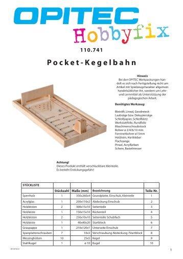 Pocket-Kegelbahn