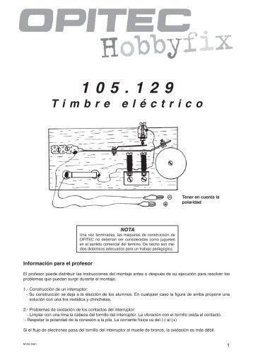Timbre eléctrico