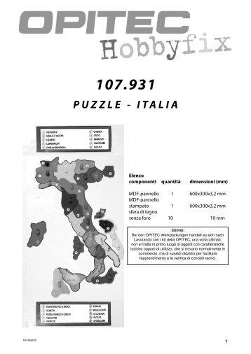 PUZZLE - ITALIA