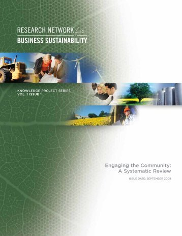 Systematic Review - Network for Business Sustainability