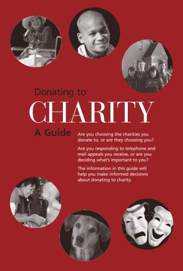 A Guide Donating to - National Center for Charitable Statistics ...