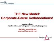 Corporate-Cause Collaborations! - Network for Business Sustainability