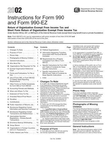 You Didnt File A Form 990990 Ez Or 990 N Internal Revenue Service