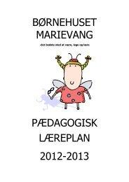 pædagogiske læreplan - Slagelse Kommune