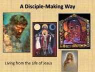 A Disciple-Making Way - North Carolina Conference of The United ...